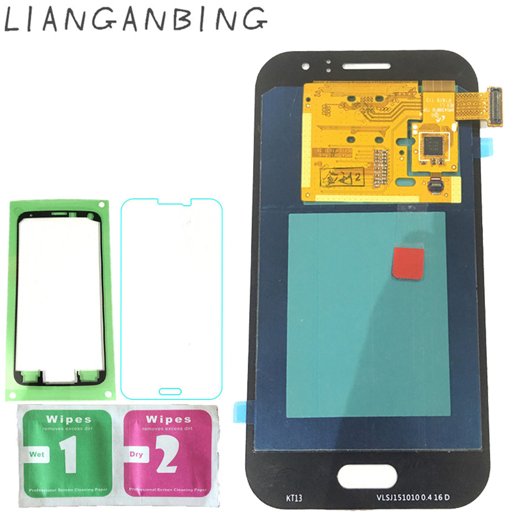 Super AMOLED LCD J1 Ace J110 sm j110f Display 100% Tested Working Touch Screen Assembly For Samsung galaxy j1 ace lcd screen