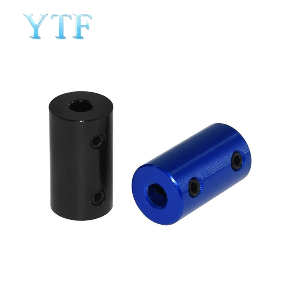 Blue Black Aluminum Alloy Coupling Bore 5x5 5x8 For 3D Printer, Car Model, Ship Model, Metal DIY Model ,Impresora 3D Diy