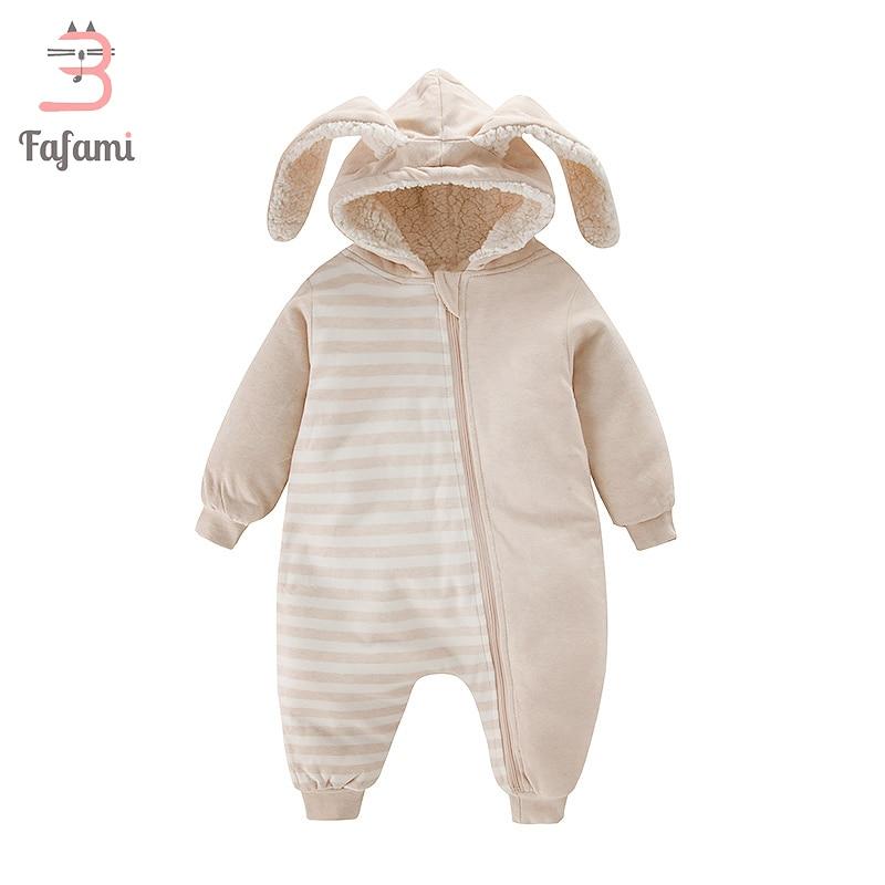 d048346fe7e35 Liquidation vente Sherpa combinaisons de neige bébé vêtements bébés  barboteuse pour nouveau né hiver bébé garçon fille barboteuses lapin  manteau bebe ...