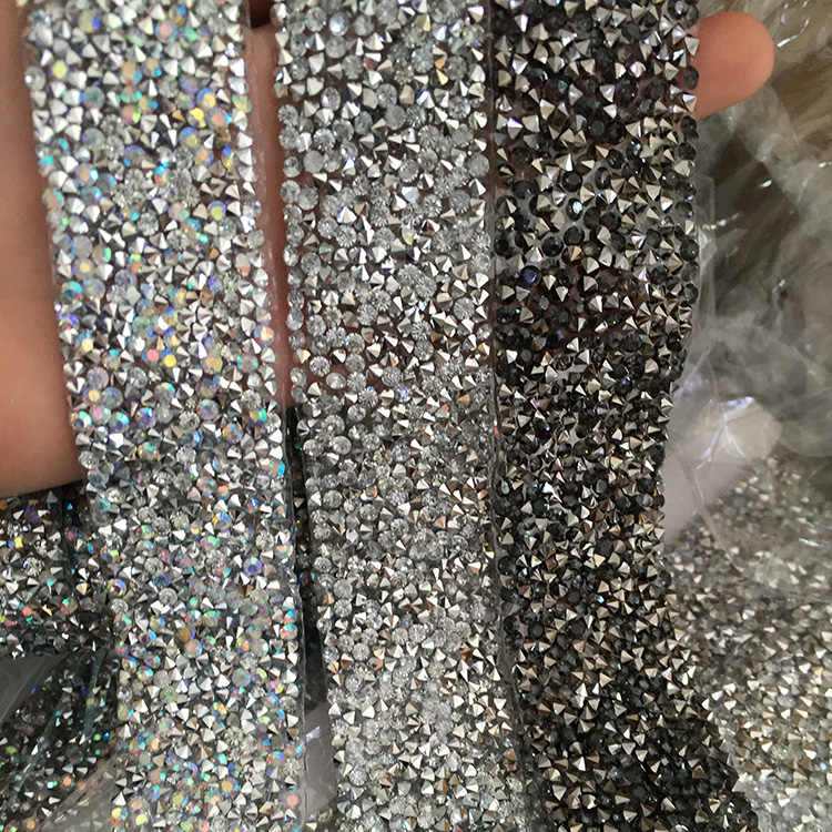 gray bling rhinestone sticker sheets luxurious phone case decor Self  Adhesive Scrapbooking Sticker shoes decoration 3 bb9f1e744562