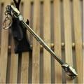 Hot sales 10pcs/lot LOL The Monkey King weapon antique bronze colour Stabilizing sea god needle Alloy model keychain pendant