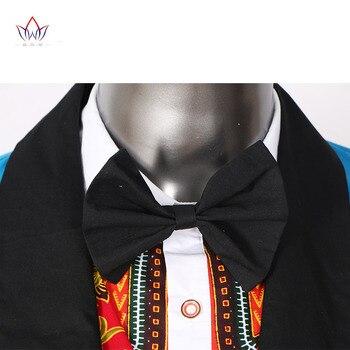Brand Clothing African Clothes Mens Printed Blazer Men Jacket + Vest Fashion Slim Suits Dashiki Men Large Size 6XL Blazer WYN176 5