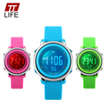 TTLIFE Children Watch LED Digital Sports Kids Cartoon Jelly Back Light Waterproof Fashion Wrist Watches Clock for Boys girls New