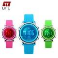 TTLIFE Crianças Relógio LED Digital Esportes Crianças Dos Desenhos Animados Da Geléia de Volta Luz Relógios de Pulso Relógio de Moda À Prova D' Água para Meninos das meninas Novo