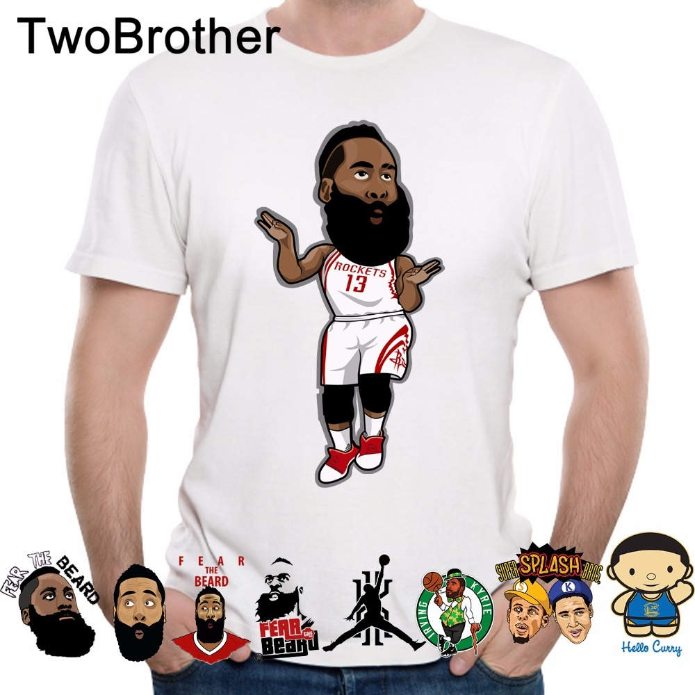 LeBron James Kevin Durant James Harden T shirt Stephen Curry Kyrie Irving t shirt Golden State Warriors T shirt