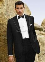 Miễn phí vận chuyển chú rể notch ve áo tuxedo người đàn ông phù hợp với phù rể phù hợp với tùy chỉnh- thực hiện( jacket+pants+tie+waistband)