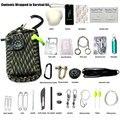 29 conjuntos de kits de emergência de viagem ao ar livre montanhismo camping kits pacote campo kit de primeiros socorros medicina de emergência