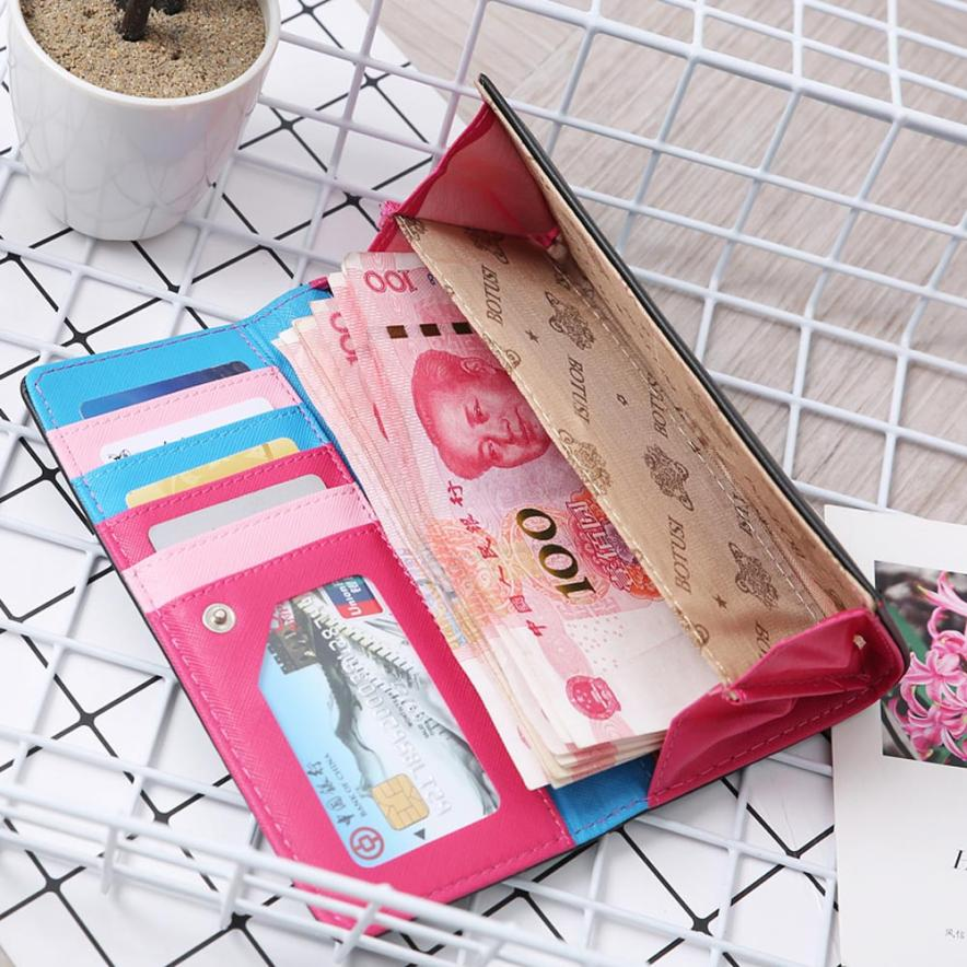 Women Simple Retro Owl Printing Long Wallet Coin Purse Card Holders Handbag wallet female Aug 9 2