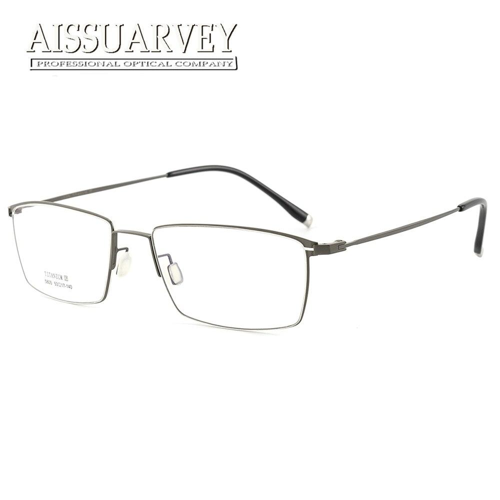 Titan Brillen Rahmen Männer Optische Brillen Flexible - Bekleidungszubehör - Foto 3
