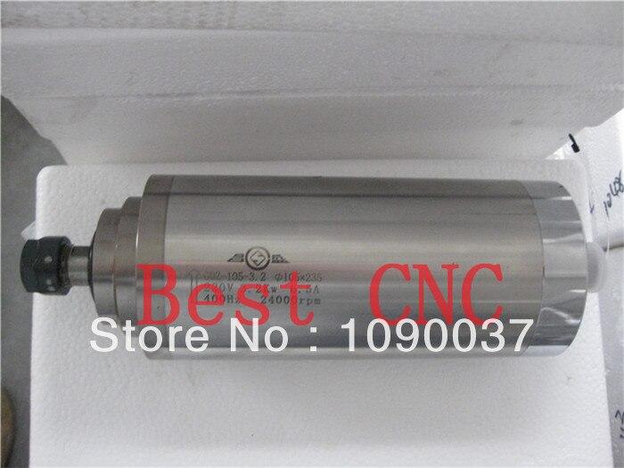Kiváló minőségű ER-20 105mm 3.2kw cnc orsómotor 3.2kw CNC - Szerszámgépek és tartozékok - Fénykép 3