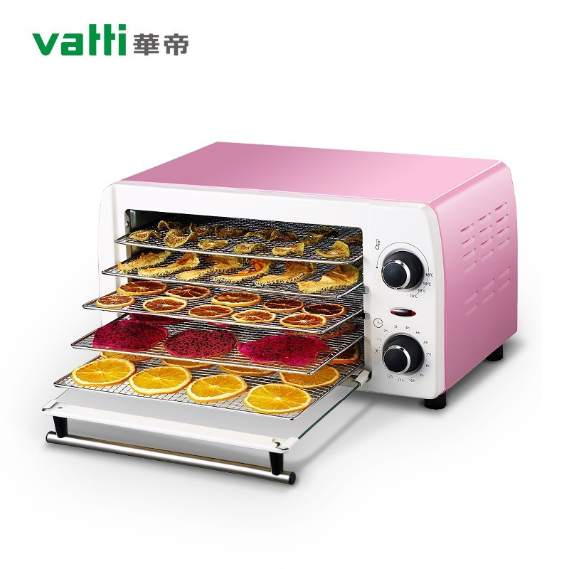 New 5 Tray Stainless Steel Fruit Dehydrator Vegetable Herb Meat Drying Machine Snacks Food Dryer shanghai kuaiqin kq 5 multifunctional shoes dryer w deodorization sterilization drying warmth
