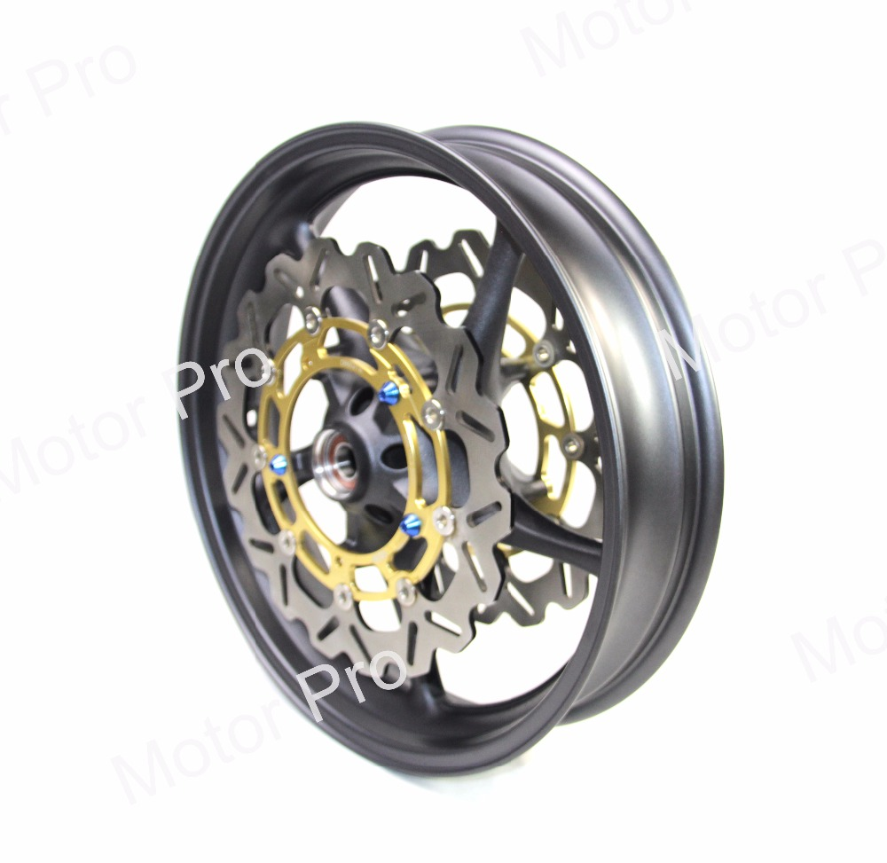 For Yamaha YZF R1 2006 - 2012 Front Wheel Rim Brake Disc Disk Rotor Motorcycle Accessories 2007 2008 2009 2010 2011 YZF-R1 Black hot sales for yamaha r1 fairings yzfr1 2007 2008 yzf r1 yzf r1 yzf1000 r1 07 08 red black abs fairings injection molding