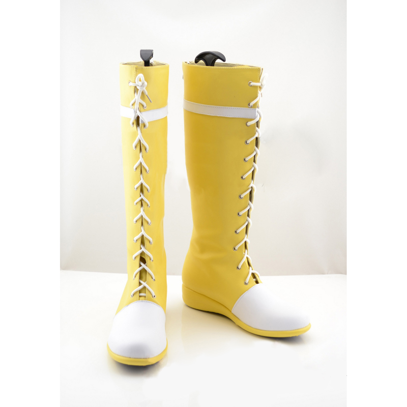 Final Fantasy Yuffie Kisaragi Cosplay Boots Women's Shoes Custom Made