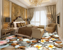 beibehang High fashion interior decoration wall paper cobblestone water flower background papel de parede 3d wallpaper tapety beibehang wall paper high fashion silk silhouette wallpaper vast coast beach stone tree interior 3d wallpaper papel de parede