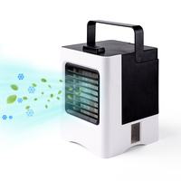 USB Portable Air Conditioner Purifier Soothing Wind Air Cooler Fan Air Cooling Fan for Office Bedroom