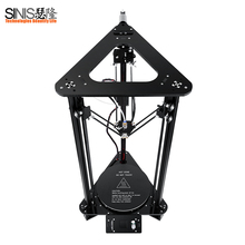3D printer Sinis T1 with Laser Engraving,Smart Leveling,Delta 3d Printer Kit,Filament Auto Feeding ,Big Size n Filament 1 44 inch lcd display 3d printer 2 in 1 laser engraving machine pla auto change material intelligent leveling diy kit 3d printer