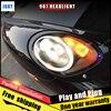 JGRT Car Style LED Headlights For Porsche 987 2004 2008 For 987 Head Lamp LED DRL