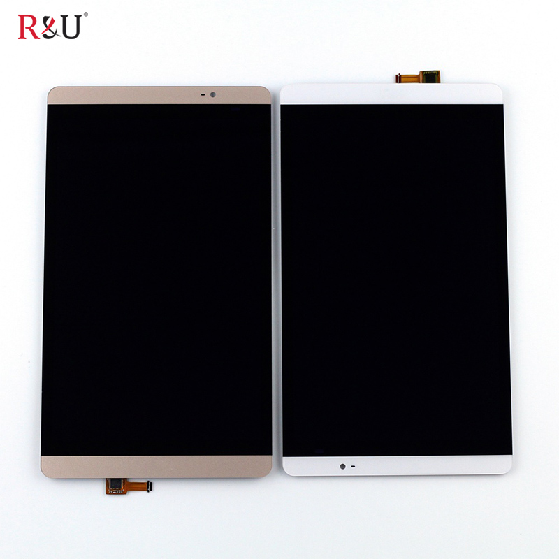 LCD Display Panel + Touch Screen Digitizer Assembly Replacement For Huawei M2-801 M2-801W M2-803 gold full lcd display touch screen digitizer assembly for huawei mediapad m2 8 0 m2 801l m2 802l m2 803l free shipping