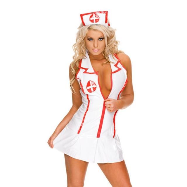 Sexy Nurse Uniform Teddy Erotic Lingerie For Women Sexy Lingerie Hot Cosplay Nurse Costumes Porn Babydoll Dress Sexy Underwear