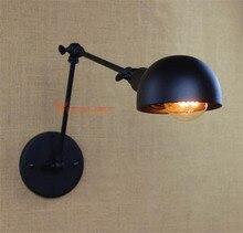 Vintage Bedroom Wall Light Flexible LED Sconce Lights Home Decoration Loft Retro Design Lamp