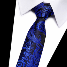 New Jacquard Woven Neck Tie For Men Wedding Business Classic Ties Fashion Polyester Mens Necktie Suit 7.5 cm Width