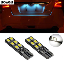 2pcs Super bright LED T10 5050smd 5Led Canbus no error License Plate Light for Opel Adam Corsa C Corsa C Combo Corsa D Astra H цены