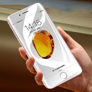 Image 4 - واقي شاشة كامل 6D Edge لهاتف آيفون X XS 7 8 6 6s Plus واقي شاشة لهاتف آيفون 7 8 6 10 11 Pro XS MAX XR واقي زجاجي