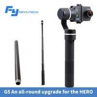 FEIYU Fy G5 Gopro Hero 5 3 Axis Handheld Gimbal Stabilizer Action Camera 3 Axis Gimbal