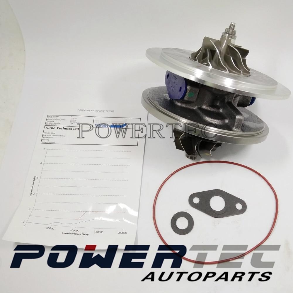 Turbocharger cartridge GT2052V 723167-5007S 723167 8653122 turbo CHRA 723167-0001 for Volvo S60 I 2.4 D D5244T 120 Kw 163 HP Turbocharger cartridge GT2052V 723167-5007S 723167 8653122 turbo CHRA 723167-0001 for Volvo S60 I 2.4 D D5244T 120 Kw 163 HP