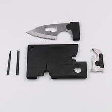 Wholesale Credit Card Tool 10 IN 1 Knife Blade Business Card Knife Card Free Shipping For Outdoor Tools