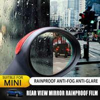 Heißer Für MINI COOPER F54 F55 F60 F56 F57 R55 R56 R57 R58 R59 R60 R61 R/F Serie rückspiegel Regendicht Anti-nebel Film Aufkleber
