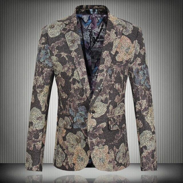 2015 Новый Бренд высокого качества мужской Костюм Куртки Деловой случай свадьба мероприятия торжественная одежда Костюмы Большой размер M-5XL