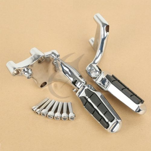 Tombstone Chrome Footpegs Brackets For Harley Sportster XL883 XL1200 Iron 14-17Tombstone Chrome Footpegs Brackets For Harley Sportster XL883 XL1200 Iron 14-17