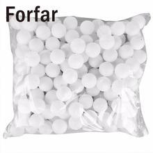 Fofar 150 шт 38 мм мячи для пинг-понга, моющиеся мячи для питья, белый теннисный мяч, резиновый мяч для настольного тенниса