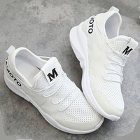 2017 New Hot very nice sport shoes for Adult Woman Running shoe non-slip soft breathable comfortable pink black white sneakers