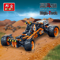 BanBao High Tech Educational Building Blocks Toy For Children Gifts Car Stickers Compatible Legoe
