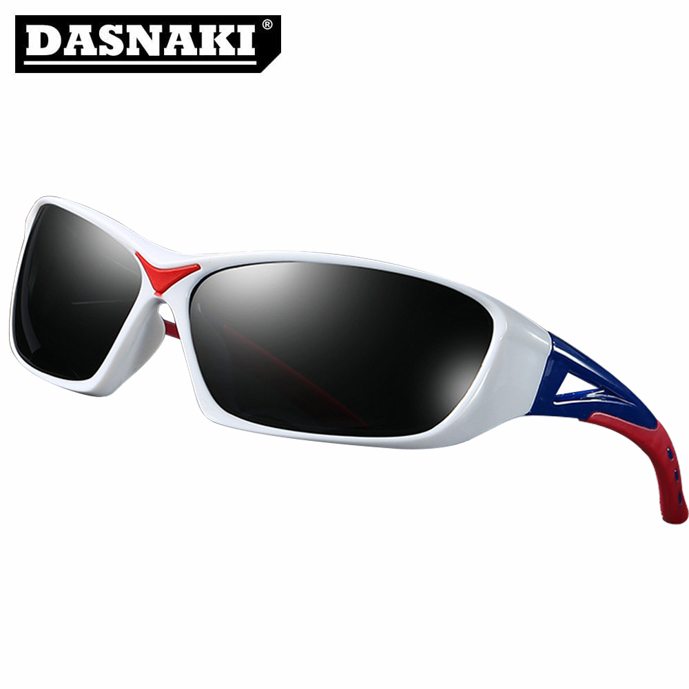 DASNAKI Polarized Fishing glasses 5 Colors Reduce Visual fatigue Clearly Vision Sunglasses to Outdoor Sport Sun Glasses