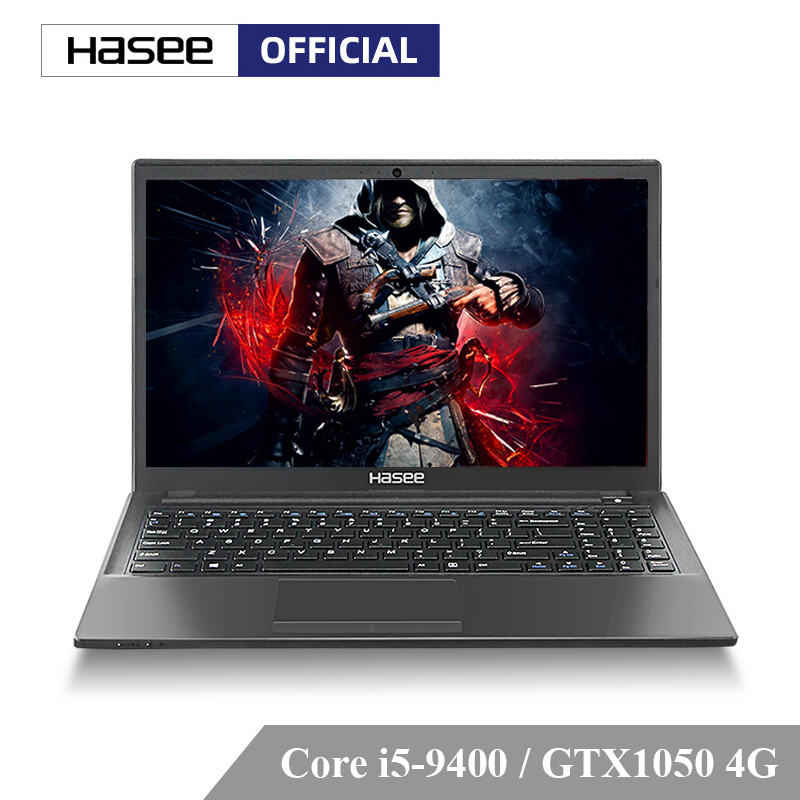 Hasee Notebook Laptop Intel Gaming I5-9400 K670E-G6A5/G6A6 Gtx1050/8g IPS DOS for /Intel/9gen/.. title=