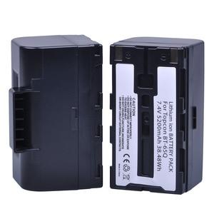 Image 2 - 2 St 7.4 V 5200 mAh BT 65Q BT65Q Ion Batterij voor Topcon GTS 900 en GPT 9000 Totaal Station