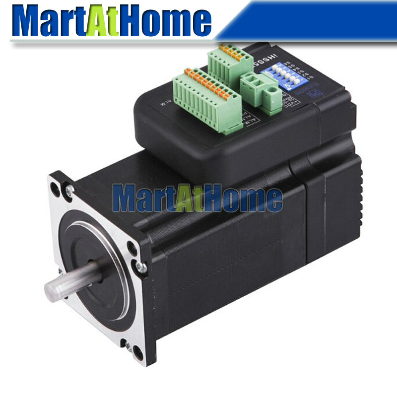Smart iHSS57-36-20 CNC Closed-Loop NEMA 23 Integrated Stepper Motor with Driver Step+direction 57mm 36VDC 2N.M #SM749 @SD nema24 3nm 425oz in integrated closed loop stepper motor with driver 36vdc jmc ihss60 36 30