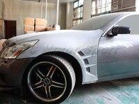 자동차 액세서리 frp 섬유 유리 jp 스타일 프론트 펜더 맞는 2008-2010 v36 g35 g37 4d 세단 프론트 펜더 자동차 스타일링