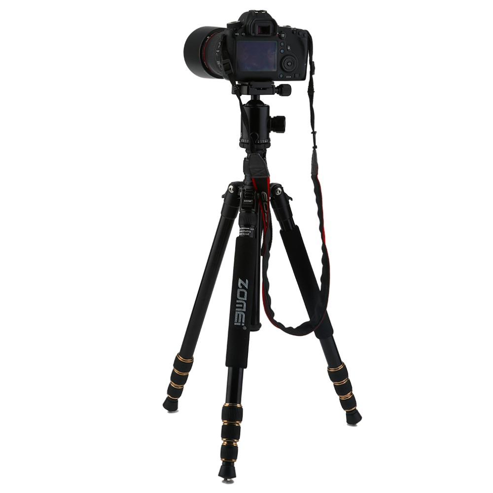 Z668 ZOMEI professionnel Portable caméra trépied support monopode pour DSLR appareil photo numérique avec tête à bille - 4