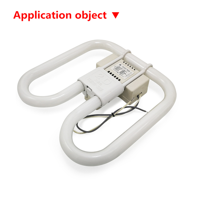 2D Butterfly Lamp Dedicated Electronic Ballast Butterfly Tube Integrated Rectifier 16W 21W 38W 55W For Four-pin Lamps