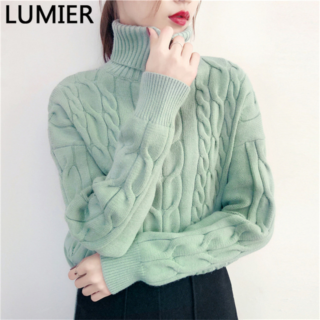 Autumn Winter Sweater 2017 European Casual Pullovers Fashion ...