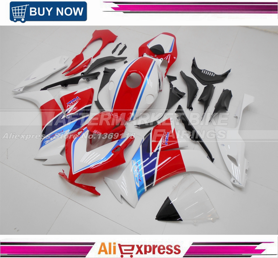 Fit for Honda CBR1000RR 2012 2013 Injection ABS Plastic Motorcycle Fairing Kit 2014 Free Windshield Bodywork NEW HRC arashi motorcycle radiator grille protective cover grill guard protector for 2008 2009 2010 2011 honda cbr1000rr cbr 1000 rr