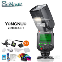 YONGNUO YN968EX RT YN968 EX RT Flash Speedlite High speed Sync TTL Wireless for Canon 5DIII 6D 7DII 60D 1100D 1200D 1000D700D