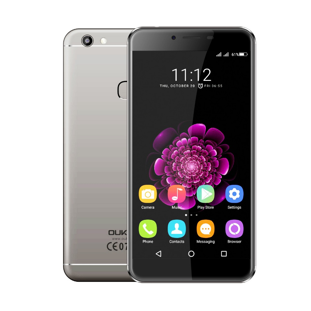 Original Oukitel U15S MTK6750T Octa Core Android 6.0 Mobile Phone 1920*1080 5.5″ CellPhone 4G RAM 32G ROM 4G 13.0MP Smartphone