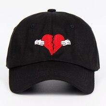 Новейшая Кепка Kanye West с альбомом «Heart Break», трендовая Кепка в стиле хип-хоп, кепка для папы, кепка Kanye Fashion King для мужчин и женщин, хлопковая бейсболка