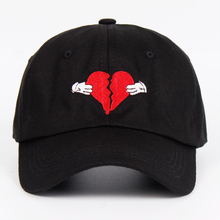 Newest Kanye West Heart Break Album Cap Trend Hip Hop Dad Hat Snapback Kanye Fashion King