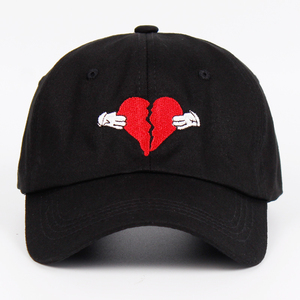 Newest Kanye West Heart Break Album Cap Trend Hip Hop Dad Hat Snapback Kanye Fashion King For Men Women Cotton Baseball Cap(China)